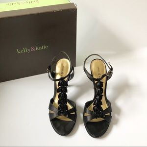 Kelly & Katie Rose Black Heels
